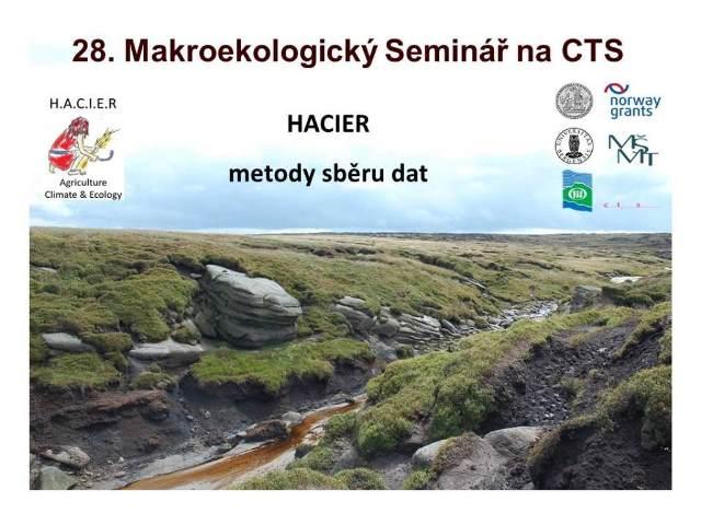 Seminary_27. Nepravidelny Makroekologicky Seminar